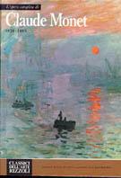 L'opera completa di Claude Monet, 1870-1889
