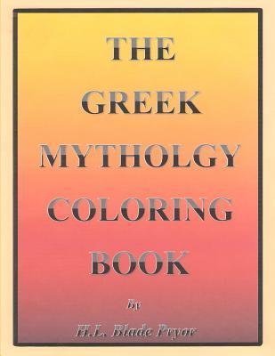 The Greek Mythology Adult Coloring Book