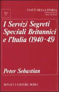 I servizi segreti speciali britannici e l'Italia