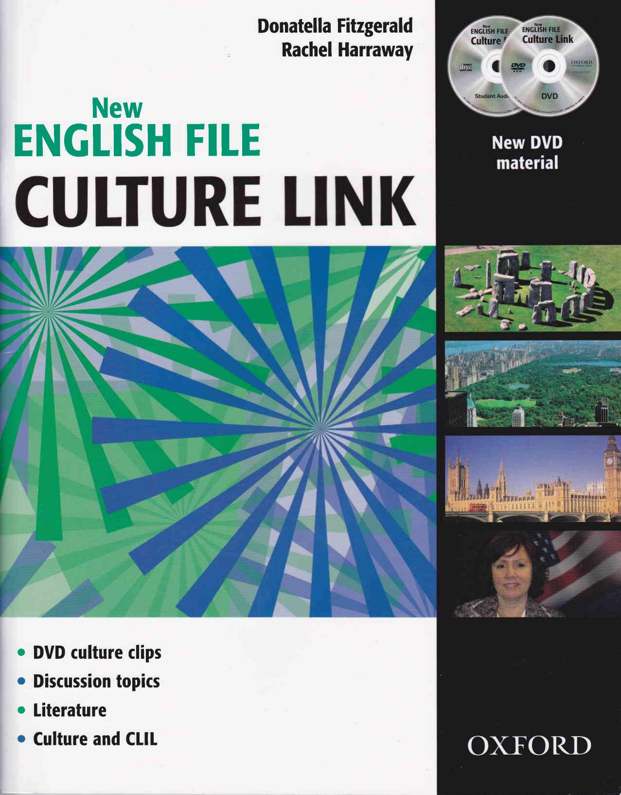New English File Culture Link Workbook CD and DVD Pack