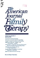 Family therapy, concepts and methods