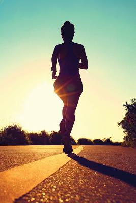 Running, Marathon Any Day Planner Notebook
