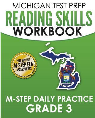 Michigan Test Prep Reading Skills Workbook M-step Daily Practice, Grade 3