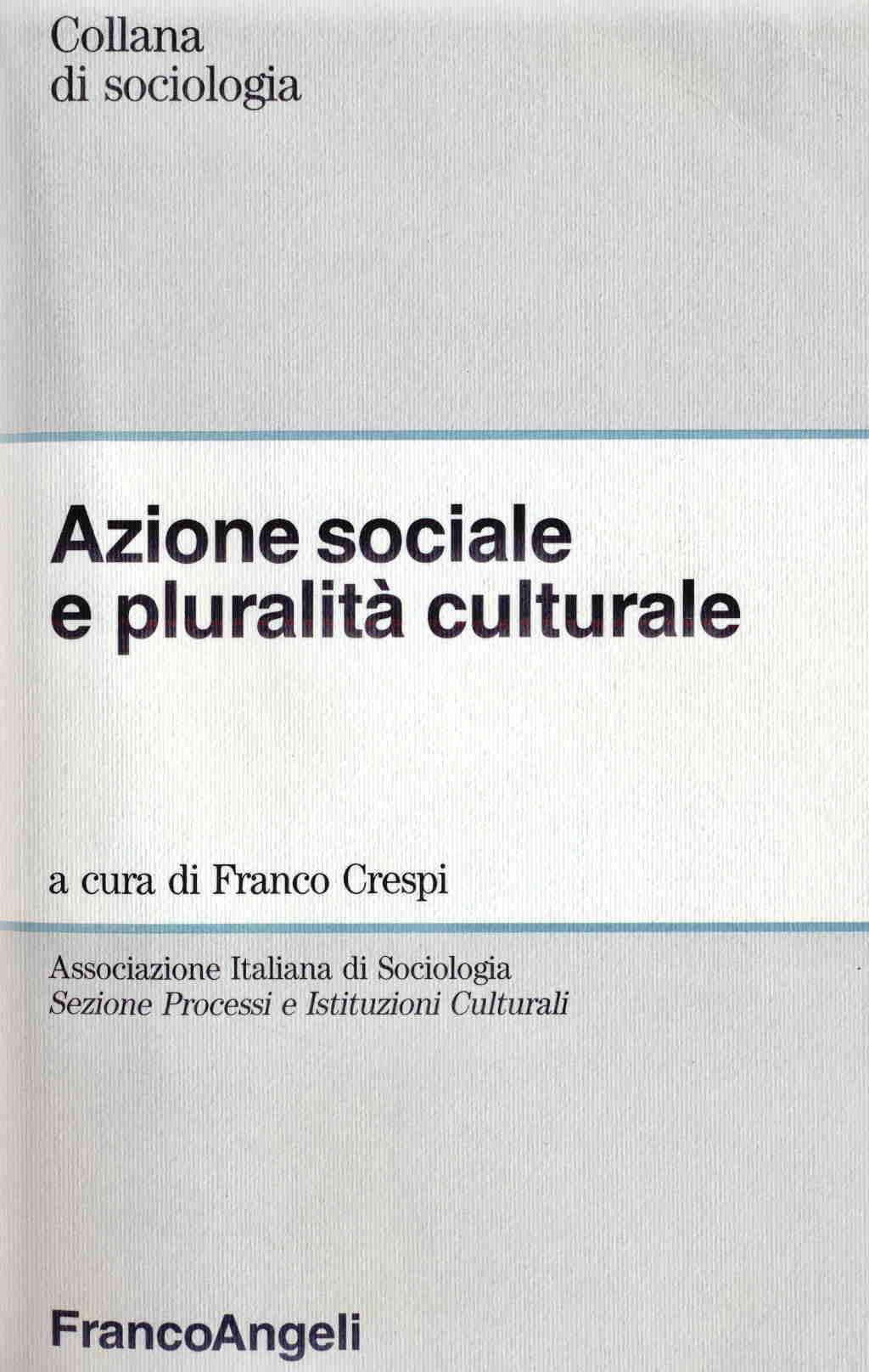 Azione sociale e pluralita culturale