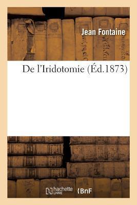 de l'Iridotomie