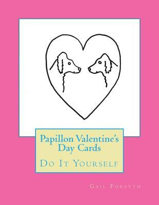 Papillon Valentine's Day Cards