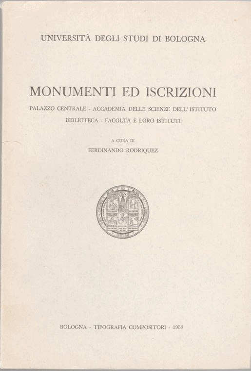 Monumenti ed iscrizioni
