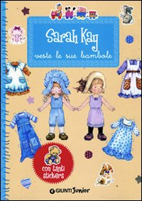 Sarah Kay veste le sue bambole. Con stickers