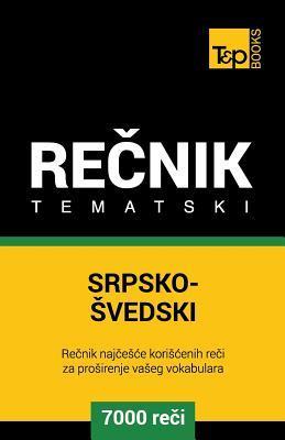 Srpsko-Svedski tematski recnik - 7000 korisnih reci