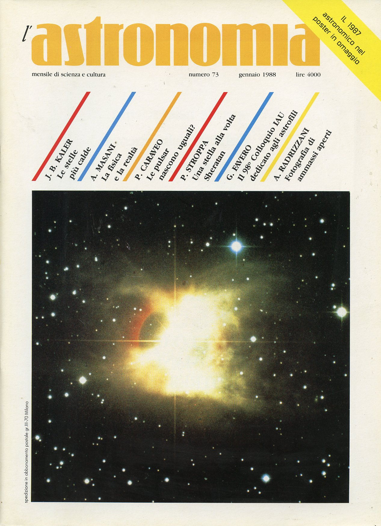 L'Astronomia, Anno X...
