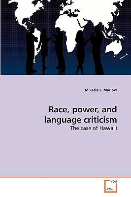Race, power, and language criticism