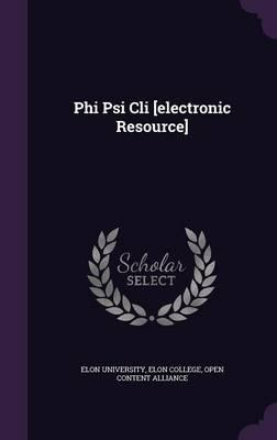 Phi Psi CLI [Electronic Resource]