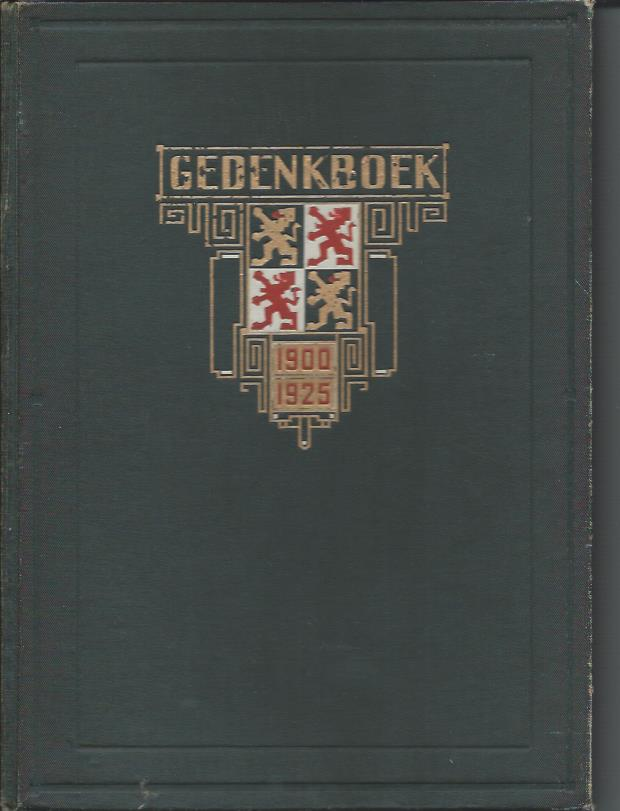 Gedenkboek voor de schoen- en lederindustrie ter gelegenheid van het vijf en twintig-jarig bestaan van den Bond van Schoenfabrikanten