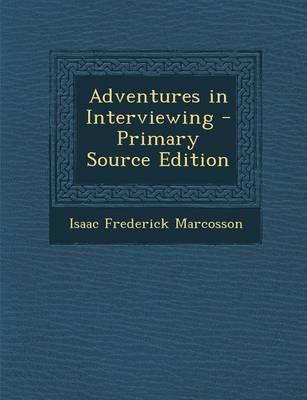 Adventures in Interv...