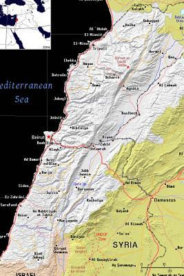 Modern Day Color Map of Lebanon Journal