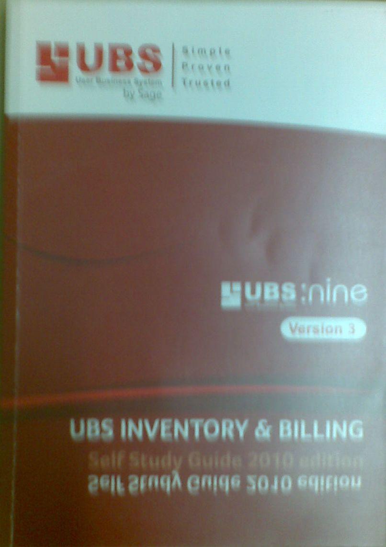 UBS Inventory & Billing