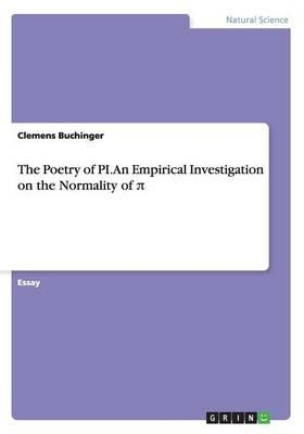The Poetry of PI. An Empirical Investigation on the Normality of p