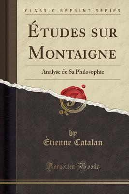 Études sur Montaigne