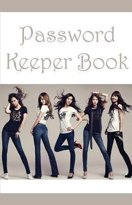 Girls Password Keeper Book