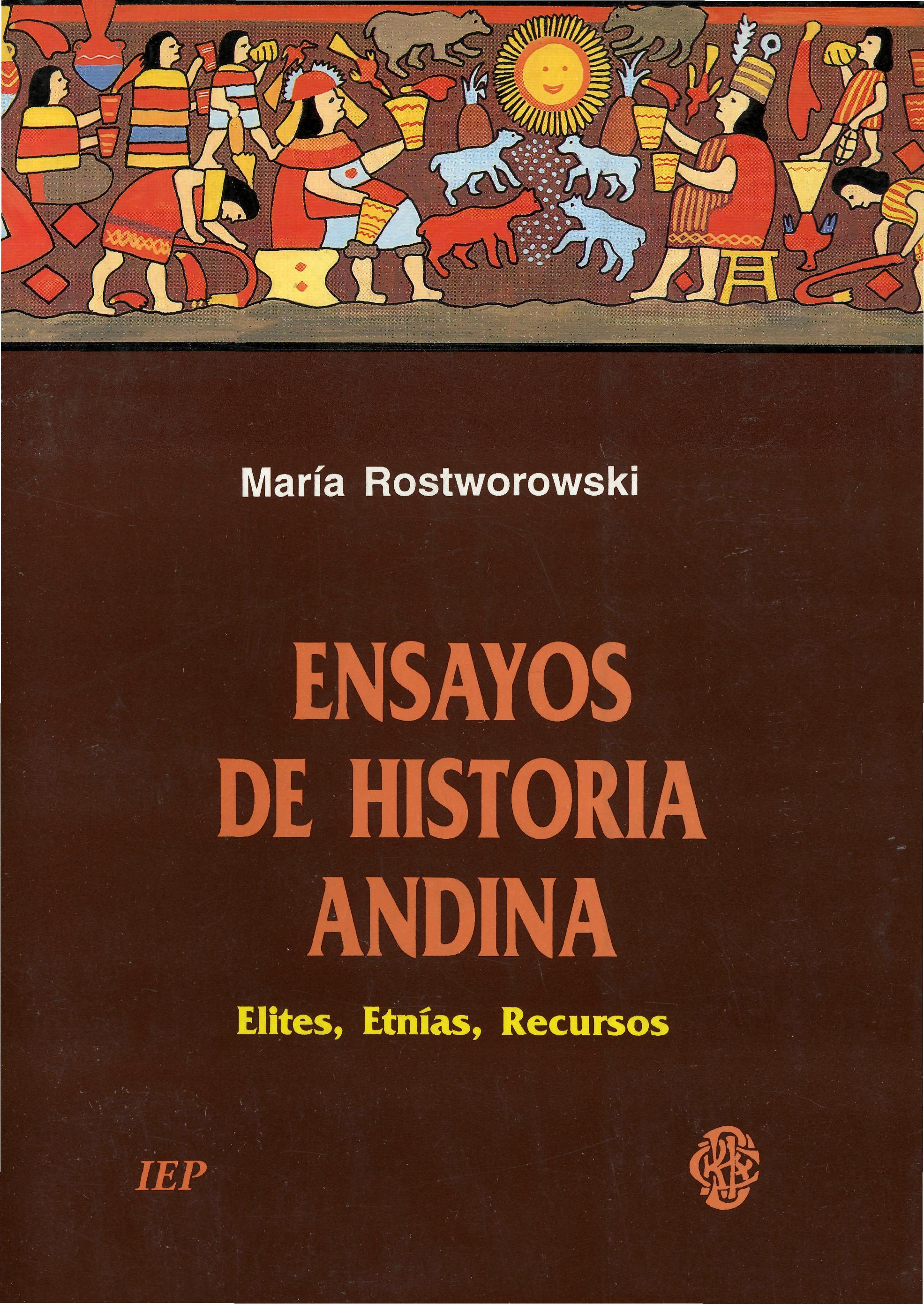 Ensayos de historia andina