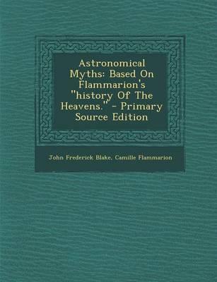 Astronomical Myths