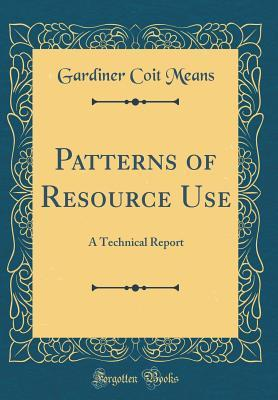 Patterns of Resource Use