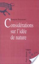 Considérations sur l'idée de nature