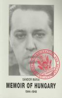 Memoir of Hungary, 1...