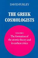 The Greek Cosmologis...