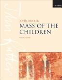Mass of the Children: Vocal Score