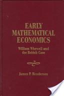 Early Mathematical Economics