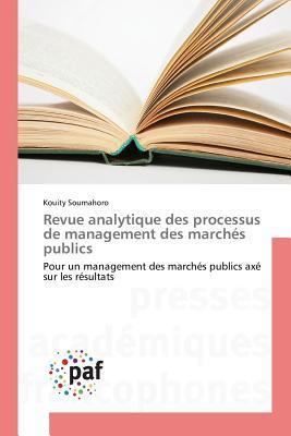Revue Analytique des Processus de Management des Marches Publics