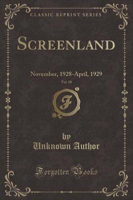 Screenland, Vol. 18