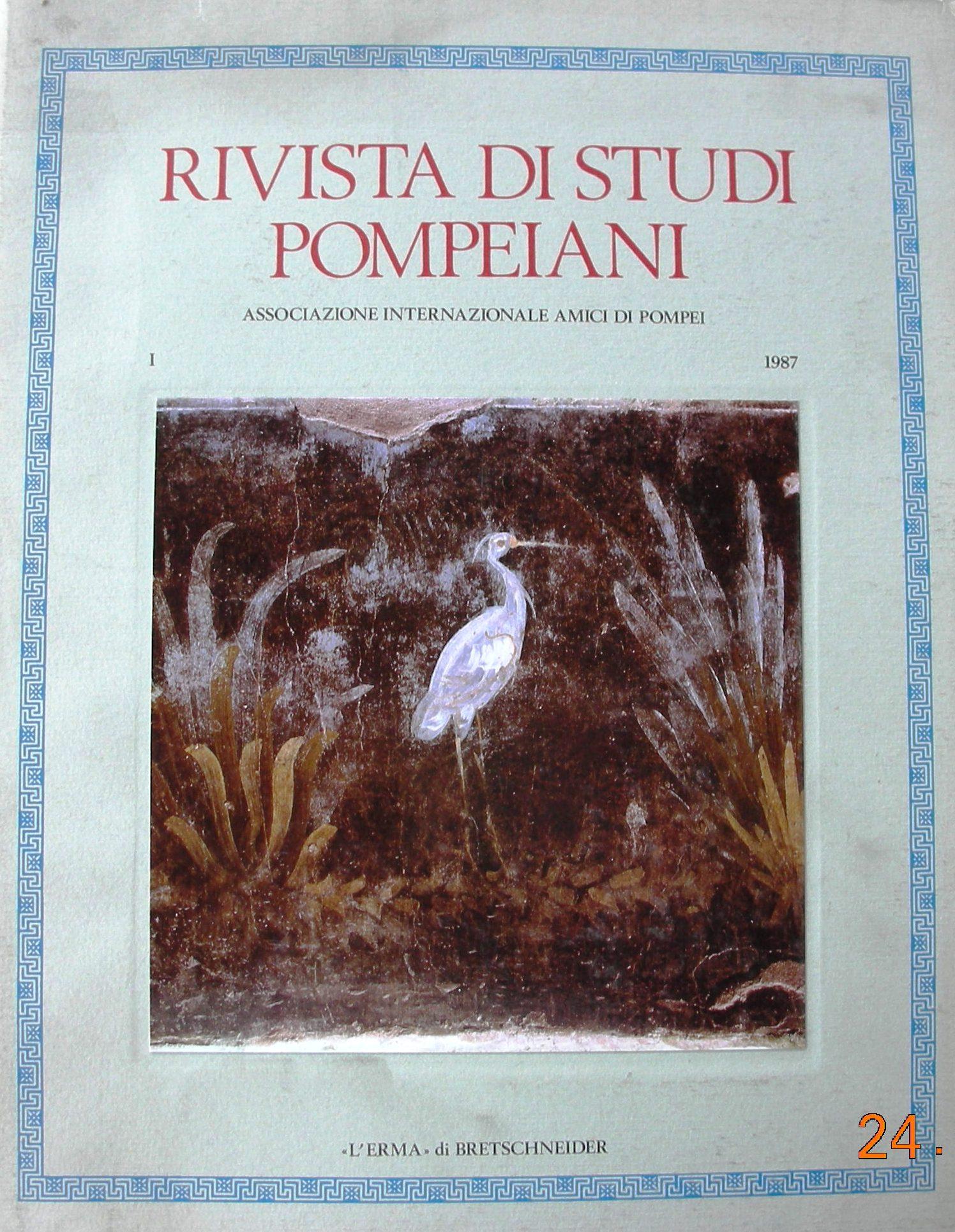 Rivista di studi pompeiani vol. 1 (1987)