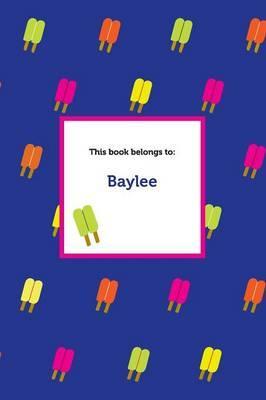 Etchbooks Baylee, Popsicle, Wide Rule
