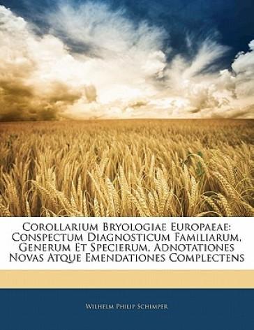 Corollarium Bryologi...