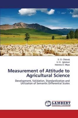 Measurement of Attitude to Agricultural Science