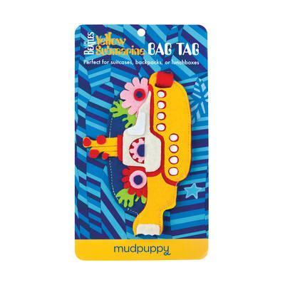 The Beatles Yellow Submarine Bag Tag