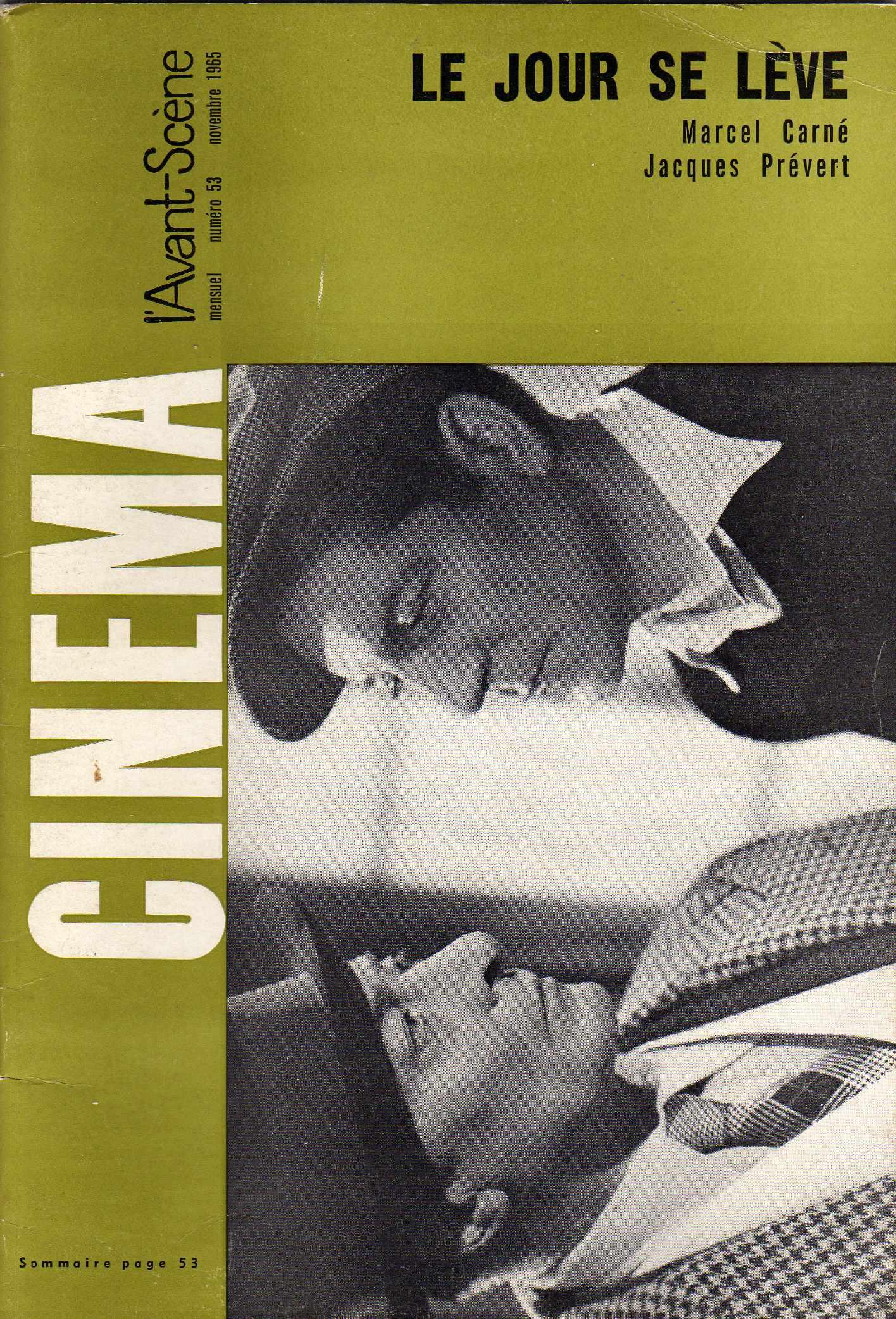 L'Avant-Scène du Cinèma n. 53