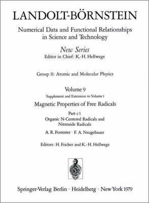 Organic N-centered Radicals and Nitroxide Radicals / Organische Radikale Mit N Als Zentralatom Und Nitroxid-radikale
