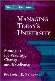 Managing Today's University