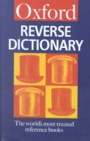 Oxford Reverse Dictionary