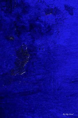 Blue Texture Lined Journal