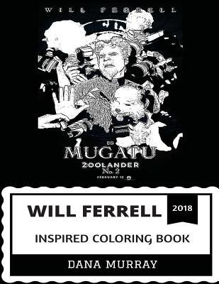 Will Ferrell Inspired Coloring Book