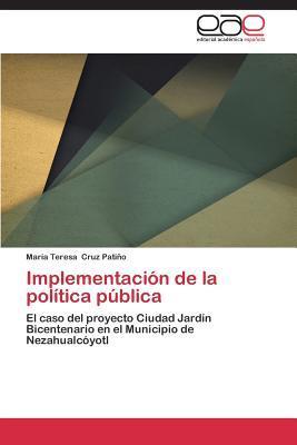 Implementación de la política pública