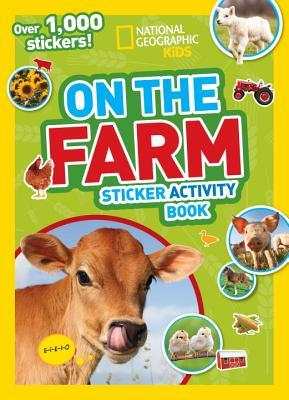 National Geographic Kids On the Farm Book Sticker Activity Book