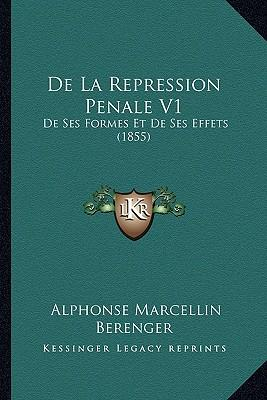 de La Repression Penale V1