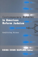 Contemporary Debates in American Reform Judaism