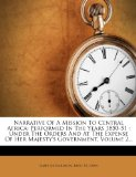 Narrative of a Mission to Central Africa