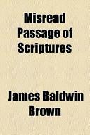 Misread Passage of S...